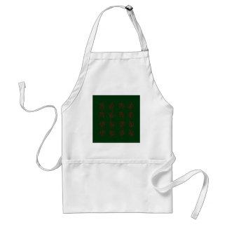 Seaweeds green standard apron