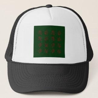Seaweeds green trucker hat