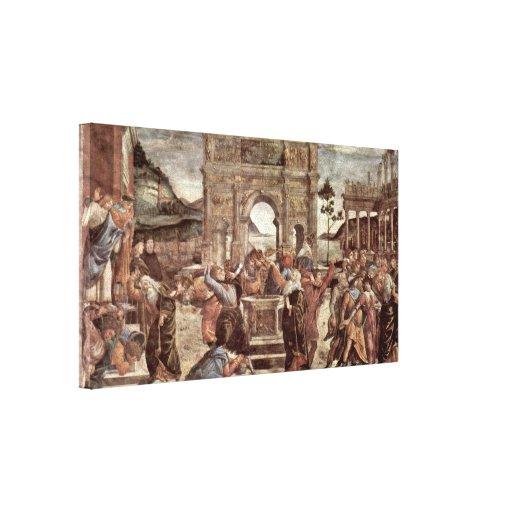 Sebastiano Ricci - Hercules fighting Canvas Print