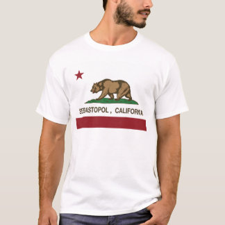 sebastopot california flag T-Shirt