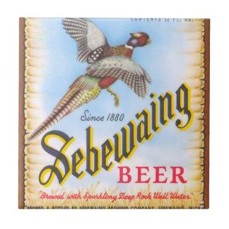 Sebewaing Beer Tile