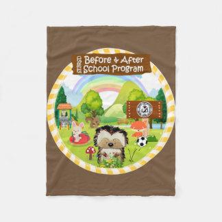 SEBRSD B/ASP Fleece Blanket (Brown)