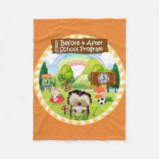 SEBRSD B/ASP Fleece Blanket (Orange)