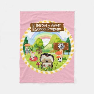 SEBRSD B/ASP Fleece Blanket (Pink)