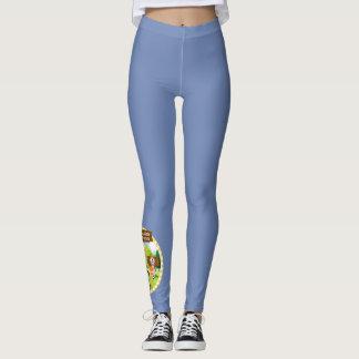 SEBRSD B/ASP Sport Leggings (Adult) - BLUE