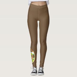 SEBRSD B/ASP Sport Leggings (Adult) - BROWN