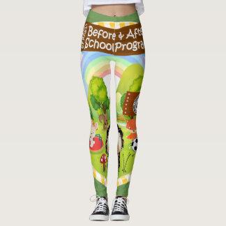 SEBRSD B/ASP Sport Leggings (Adult) GREEN