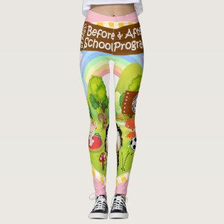 SEBRSD B/ASP Sport Leggings (Adult) PINK