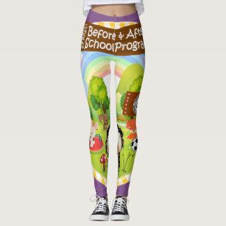 SEBRSD B/ASP Sport Leggings (Adult) PURPLE