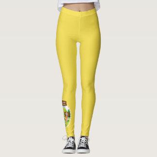 SEBRSD B/ASP Sport Leggings (Adult) - YELLOW