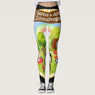 SEBRSD B/ASP Sport Leggings (Adult) YELLOW