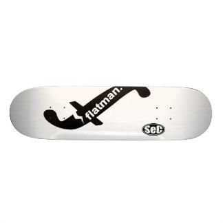 SeC_flatman.logo Skate Deck