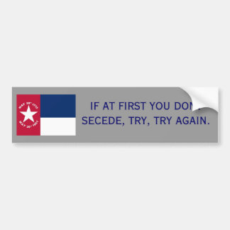 Secede -NC Bumper Sticker