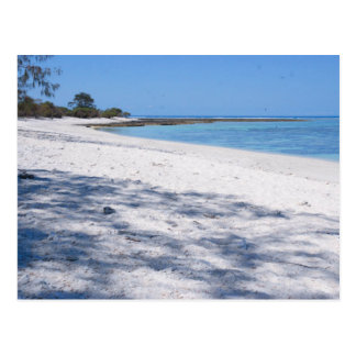 Secluded Beach Postcard