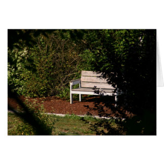 Secluded Bench card