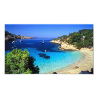 Secluded Island Cove Photo Print