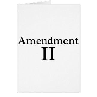 Second Amendment Apparel Card