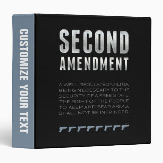 Second Amendment Binders