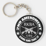 Second Amendment Come And Take It RKBA AR's Keychain