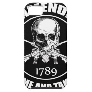Second Amendment Come and Take It Skull and AR's iPhone 5 Covers