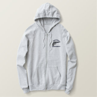 Second Amendment Embroidered Hoodie