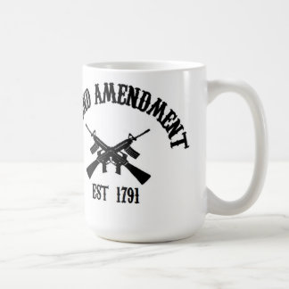 Second Amendment Est. 1791 Coffee Mug
