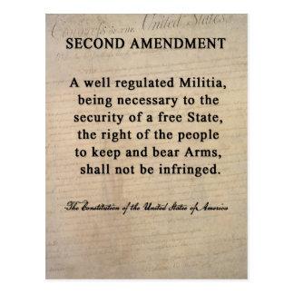 Second Amendment Postcards