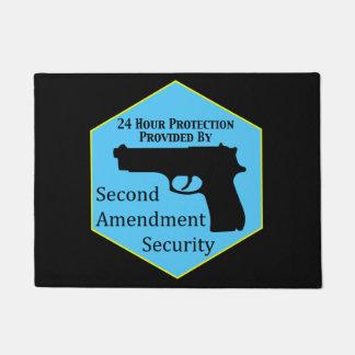 Second Amendment Security Doormat
