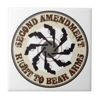 Second Amendment Tile