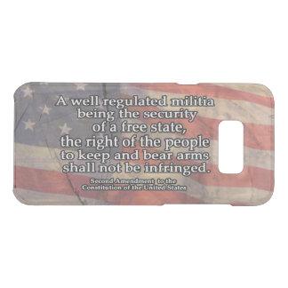 Second Amendment Typography | US Constitution Uncommon Samsung Galaxy S8 Plus Case