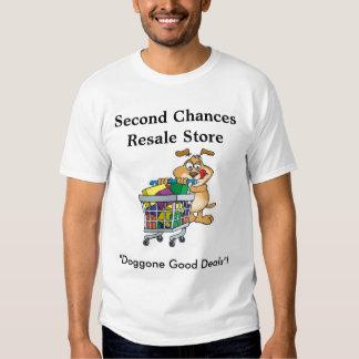 Second Chances Resale Store T-shirt