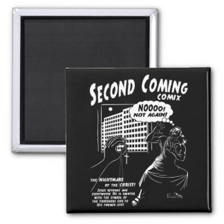 Second Coming Comix 1c Square Magnet