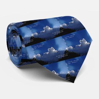 Second Coming Inspirational Scripture Men's Tie