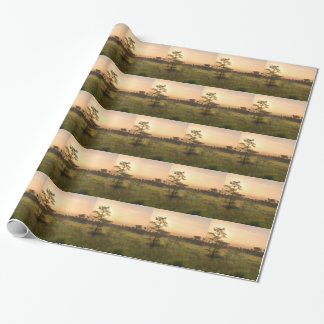 Second Dawn in Fakahatchee Strand Wrapping Paper