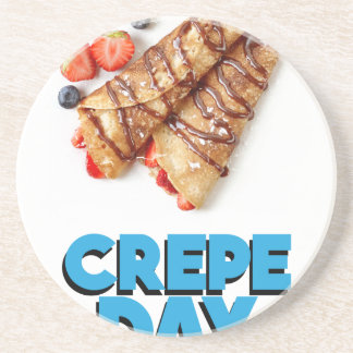 Second February - Crepe Day - Appreciation Day Coaster