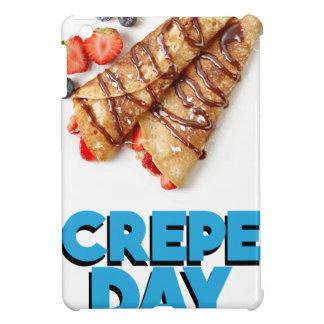 Second February - Crepe Day - Appreciation Day iPad Mini Cover