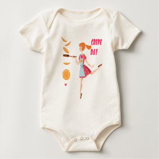 Second February - Crepe Day Baby Bodysuit