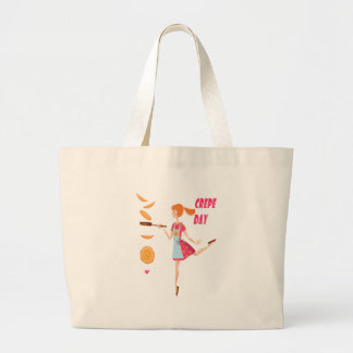 Second February - Crepe Day Large Tote Bag