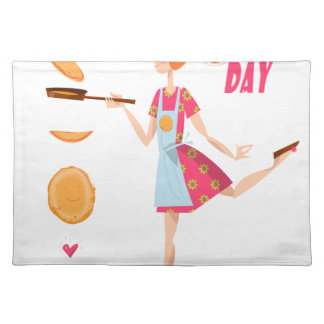Second February - Crepe Day Place Mat