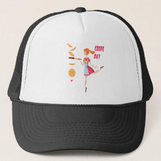 Second February - Crepe Day Trucker Hat