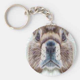 Second February - Marmot Day - Appreciation Day Keychain