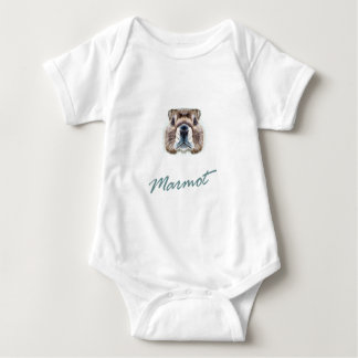 Second February - Marmot Day Baby Bodysuit