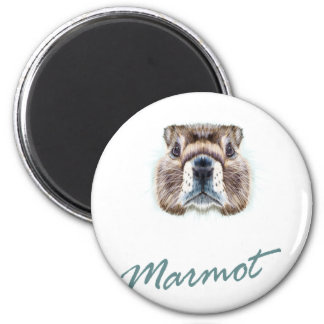 Second February - Marmot Day Magnet