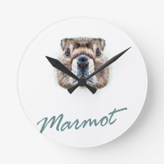 Second February - Marmot Day Round Clock