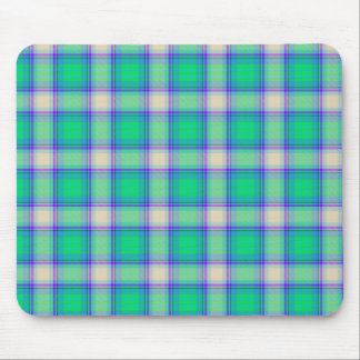 Second Fibonacci Plaid Mouse Pad