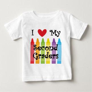 second grade teacher2 baby T-Shirt
