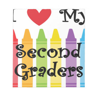second grade teacher2 notepad