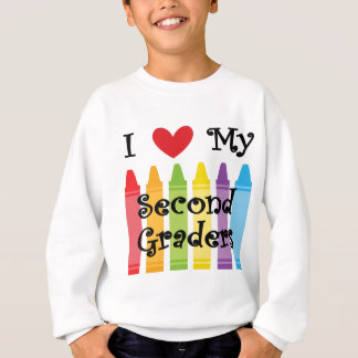 second grade teacher2 sweatshirt