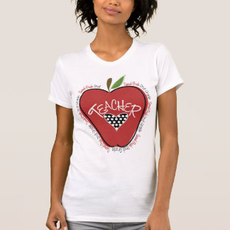 Second Grade Teacher Red Apple Teacher T Shirt