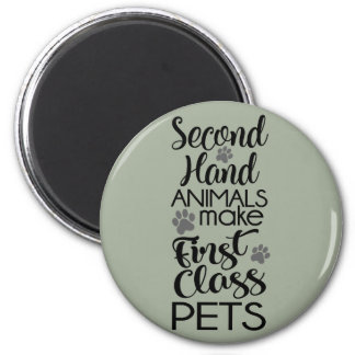 Second Hand Animals Magnet